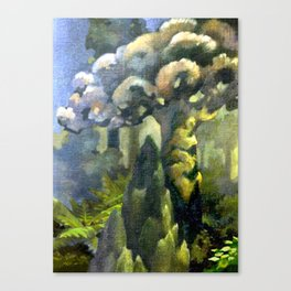 Tarairi Forest Morning Canvas Print