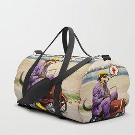 Barkin' Down the Highway! Duffle Bag
