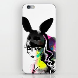 Bunny gone iPhone Skin