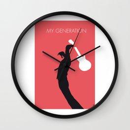 No002 my the who mini Wall Clock