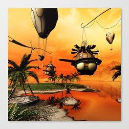 Fantasy world Canvas Print