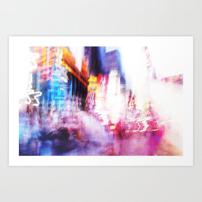 Times Square Photo Art Print