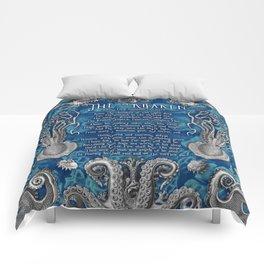 The Kraken (Blue) Comforters