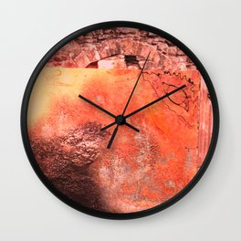Childhood of humankind: Wisdom eye look left Wall Clock