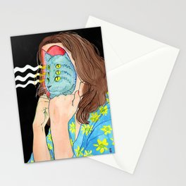 Cathead Stationery Cards