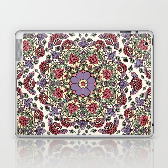 Deco Floral Laptop & iPad Skin