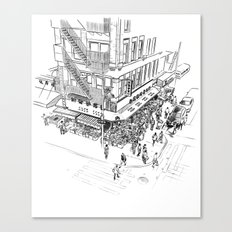 Morning hours of Chinatown - Manhattan, New York Canvas Print