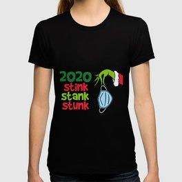 Grinch 2020 Stink Stank Stunk T-shirt