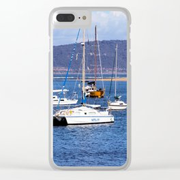Booker Bay Clear iPhone Case
