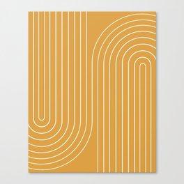 Minimal Line Curvature VIII Canvas Print