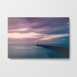 Sodus Point - Cotton Candy Sky v2 Metal Print