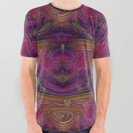 Alchemy New Age Mixed Media All Over Graphic Tee
