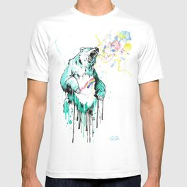 Bashful Bear. T-shirt