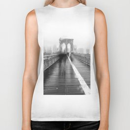 Brooklyn Bridge and Rain Biker Tank