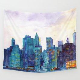 NYC panorama Wall Tapestry