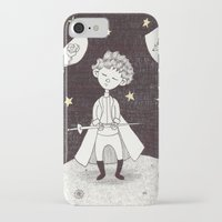 le petit prince iPhone & iPod Cases featuring Le petit prince by nu boniglio