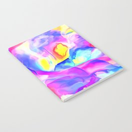 Floral Drama Abstract Notebook