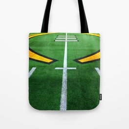 Rugby playing field Tote Bag