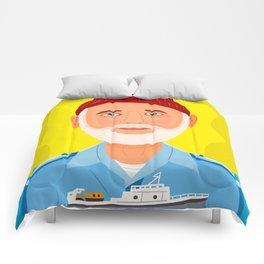 Steve Zissou Comforters