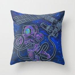 Espacio Throw Pillow