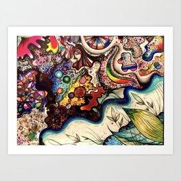 Colors of Life Art Print