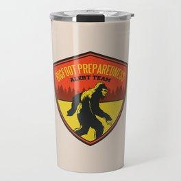 Big Foot Alert Team Travel Mug