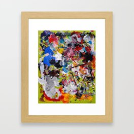 Artist palette Framed Art Print