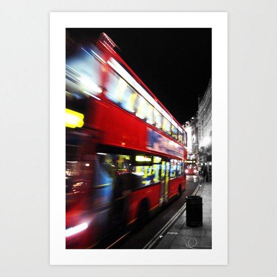 double decker Art Print