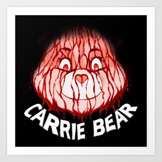 Carrie Bear Art Print