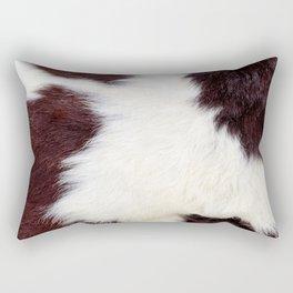Cowhide Fur Rectangular Pillow