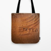 mexico Tote Bags featuring Mexico by Work to Win