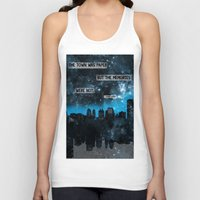 john green Tank Tops featuring Paper Towns John Green Quote by denise
