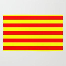 china kyrgyzstan spain flag stripes Rug
