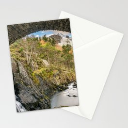 Pont Pen y Benglog Bridge Snowdonia Stationery Cards