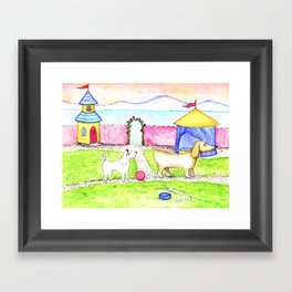 Do you want to play Framed Art Print
