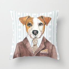 Jacki Russell Throw Pillow