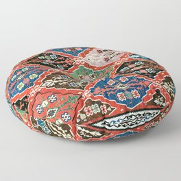 East Anatolian Antique Erzurum Bayburt Turkish Kilim Floor Pillow