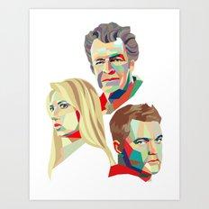Walter, Peter, Olivia Art Print