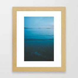 Summer of Love by the Sea II Framed Art Print