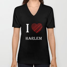 harlem classic. I love my favorite city. Unisex V-Neck