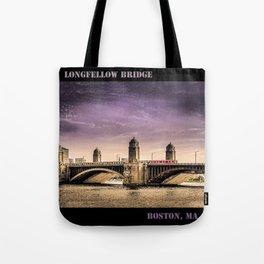 Longfellow Bridge, Boston MA Tote Bag