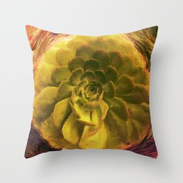 Dusucculent Throw Pillow
