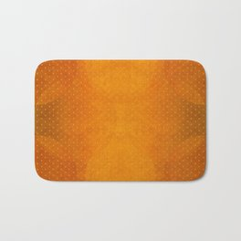 """Sabana Sunset Light Polka Dots"" Bath Mat"