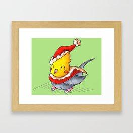 Santa Tiel Framed Art Print