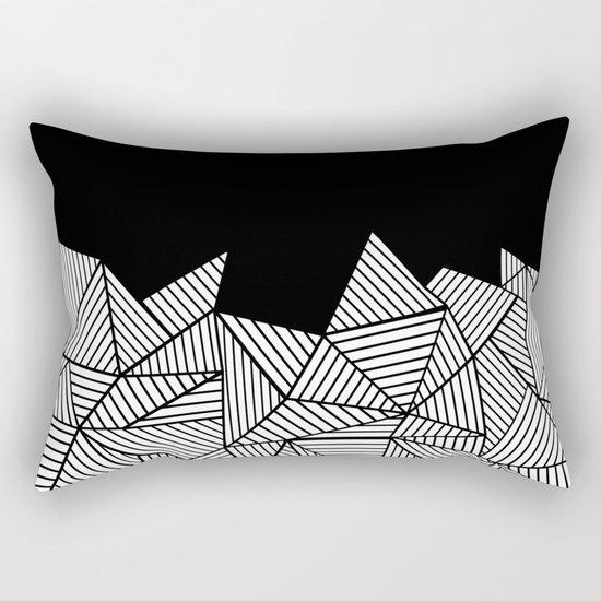 Abstraction Mountain Rectangular Pillow