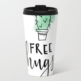 Cactus Free Hugs Travel Mug
