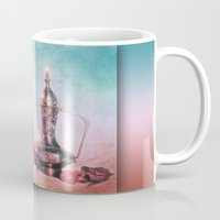 oriental Mugs featuring ORIENTAL HARMONY by INA FineArt
