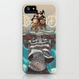 ISLAND-JONAH iPhone Case
