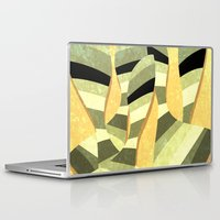 striped Laptop & iPad Skins featuring striped by Herb Vaine