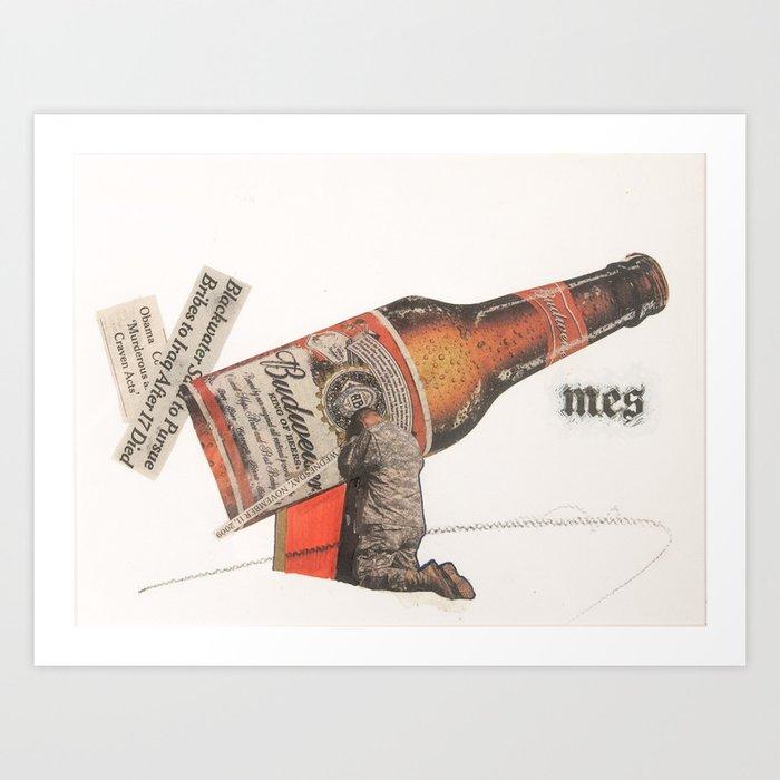 Murderous Craven Acts Art Print